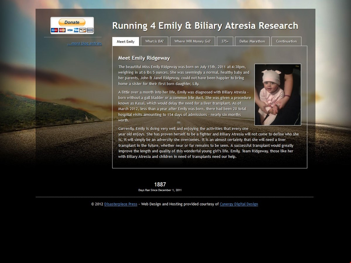 Running 4 Emily & Biliary Atresia Research