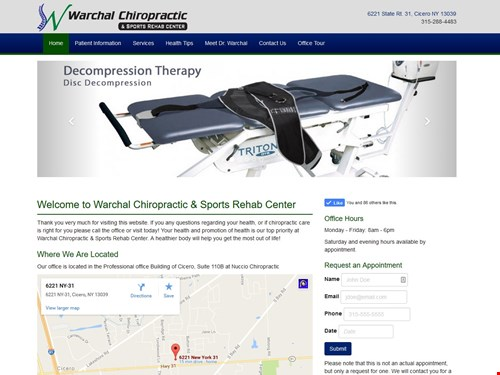 Warchal Chiropractic & Sports Rehab Center